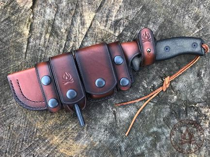 Boreal sheath ESEE 6 dark brown