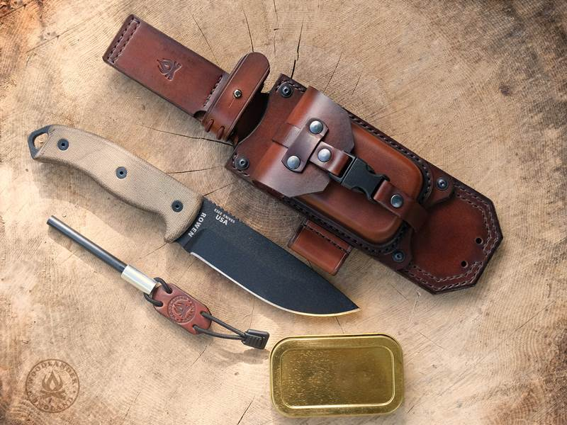 ESEE 5 Leather sheath