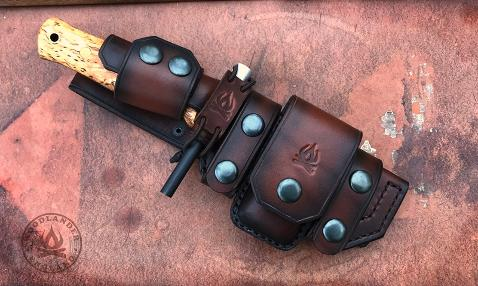 Lars Falt knife sheath