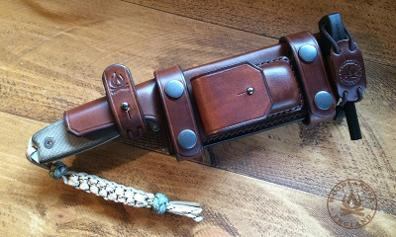 Leather sheath ESEE 4